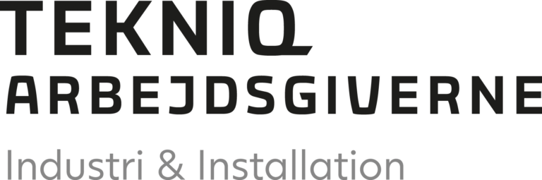 Tekniq arbejdsgiverne logo transparent